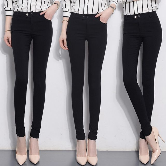 Slim Jeans For Women Skinny High Waist Jeans Woman Denim Pencil Pants Stretch Waist Women Jeans Black Pants Feminina 7Colors - http://fashionfromchina.net/?product=slim-jeans-for-women-skinny-high-waist-jeans-woman-denim-pencil-pants-stretch-waist-women-jeans-black-pants-feminina-7colors