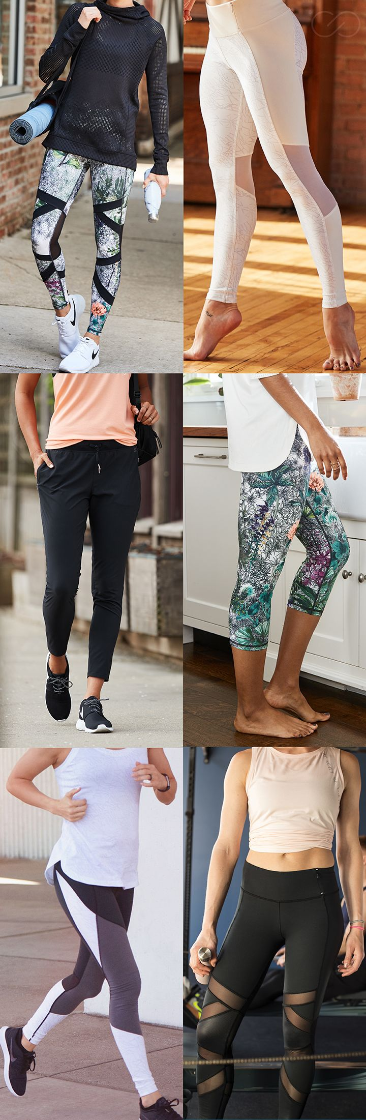 Take your workout look to the next level with cute, stylish and comfortable leggings. | CALIA by Carrie Underwood