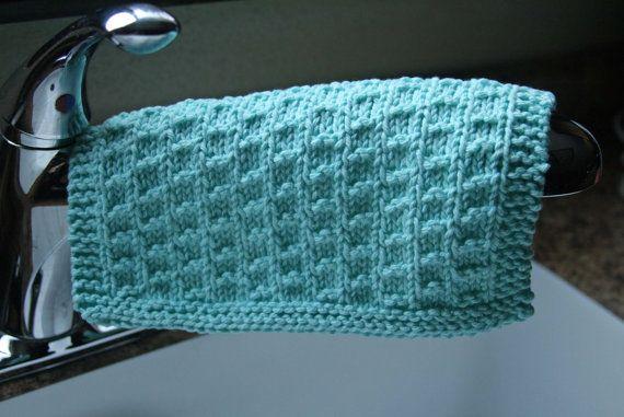 Knitting PDF Pattern Dishcloth Stepping by DishclothDivaKnitsOn, $2.00