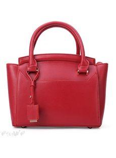 欧米セレブ愛用新品 2015ファッション復古赤いハンドバッグ