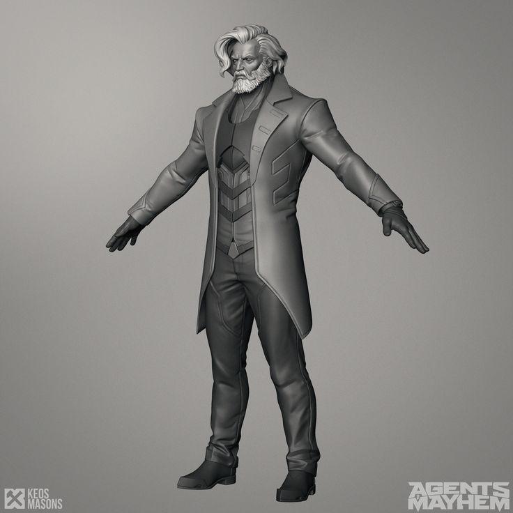 Keos Masons - Agents of Mayhem