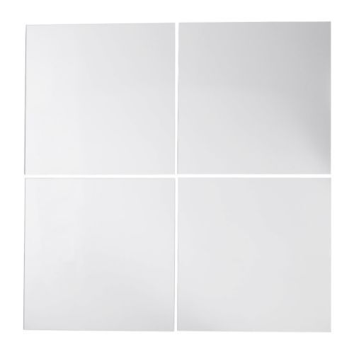 Floor mirrors are pricey---what about using mirrors like this to tile part of a wall, preferably opposite the windows?