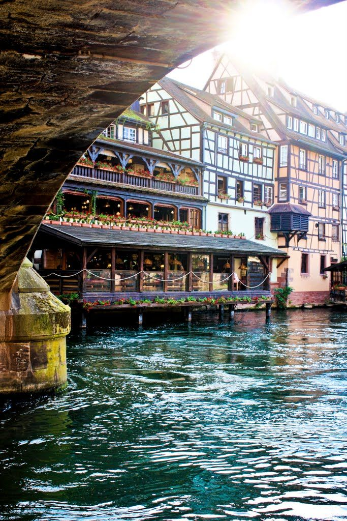 Strasbourg, France - spent many an afternoon here while living in Germany. Loved it. ~jm