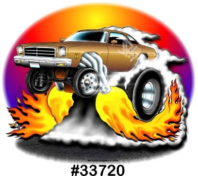 Image result for car toons chevelle