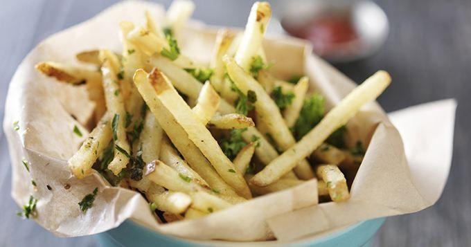 Les frites de panais côté sucré - Cuisine AZ