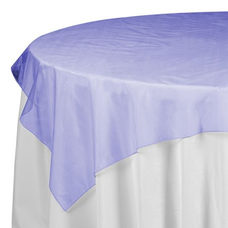 Save On Royal Blue Sheer Mesh Organza Tablecloth Overlay For Showers,  Holiday Catering And Discount Weddings On A Budget.