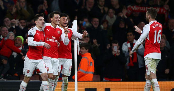 Taklukan Bournemouth, Arsenal Sementara Puncaki Klasemen -  http://www.football5star.com/liga-inggris/taklukan-bournemouth-arsenal-sementara-puncaki-klasemen/
