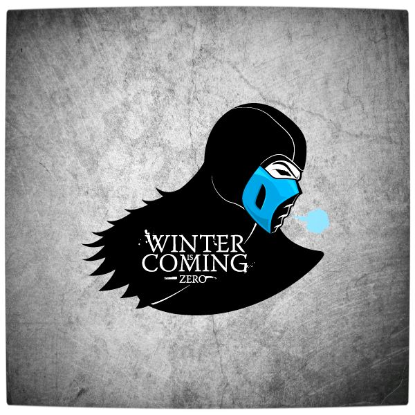 Vamers - Artistry - Gaming & Cartoon Pop. Culture Icons Imagined as 'Game of Thrones' Houses - Art by Fabio Di Corleto - House Stark and Mor...