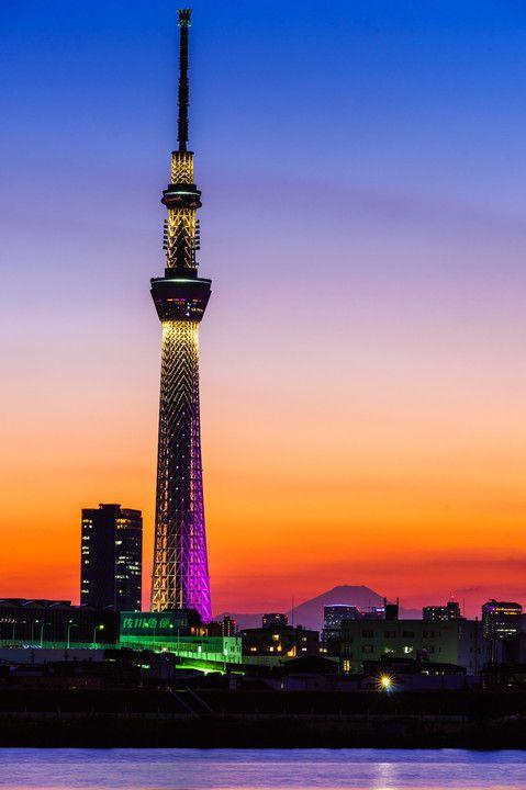 東京スカイツリー Tokyo Sky Tree, Japan