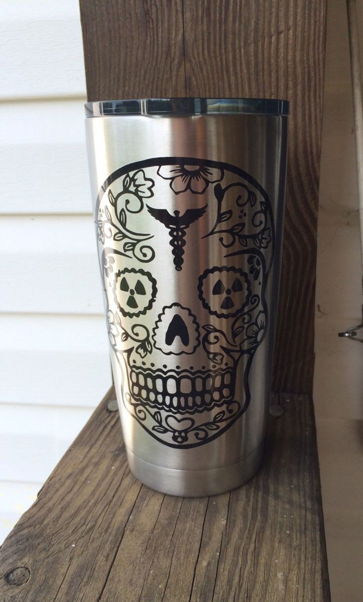 Radiology xray tech stainless steel tumbler by iSAAWit