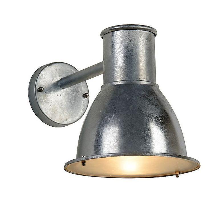 Landelijke Cora buitenlamp zink, aluminium