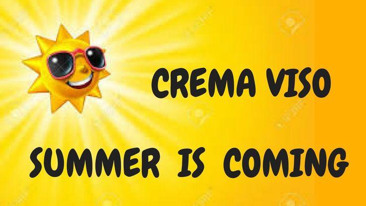 CREMA VISO SUMMER IS COMING fai da te! LENITIVA e OPACIZZANTE