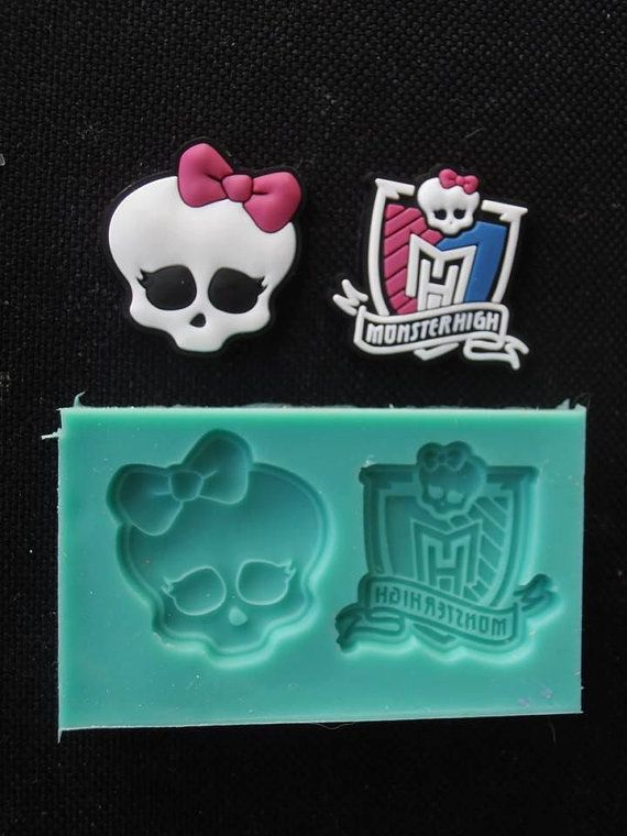 Silikon Form kleine MONSTER HIGH Sugarcraft Cake Decorating Fondant / Fimo Formen
