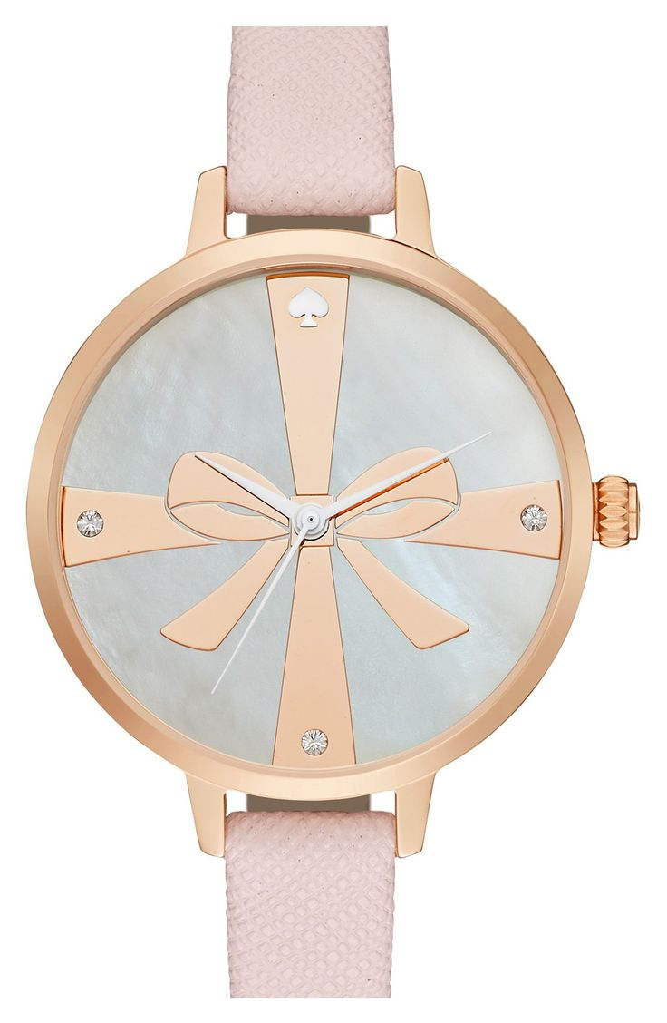 c5fc0fecb97 kate spade new york kate spade new york  metro - strapped up  leather strap  watch