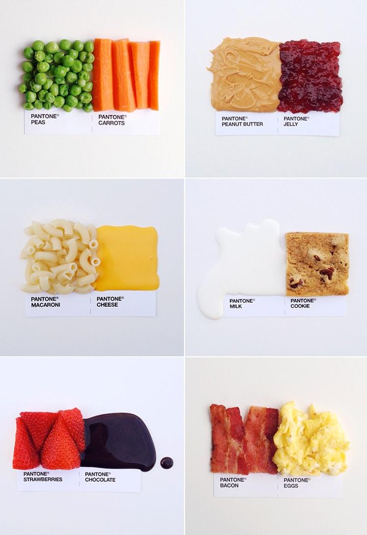 How creative! Pantone Pairings | techlovedesign.com