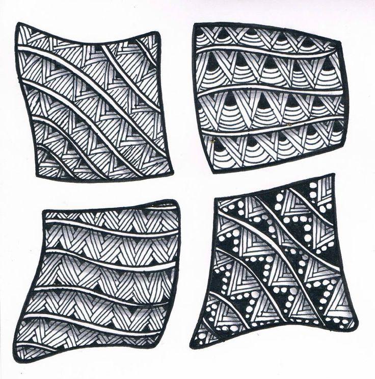dessins et zentangles - les créations de Tatahari