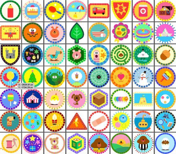 Badges 1-52 Best Value Bundle Hey Duggee Badges Super