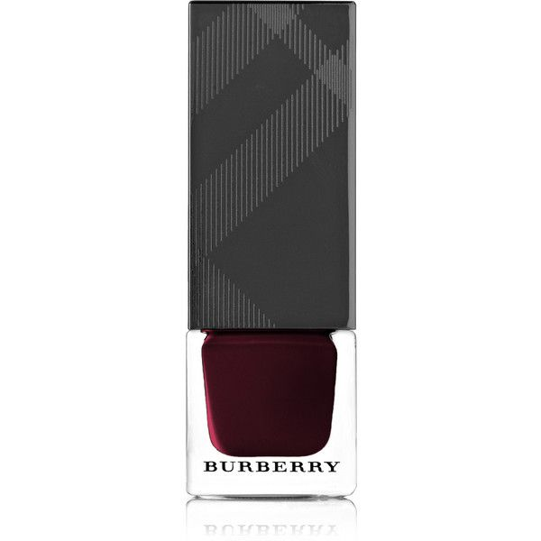 Burberry Beauty Nail Polish - Black Cherry No.304 found on Polyvore featuring beauty products, nail care, nail polish, nails, merlot and burberry