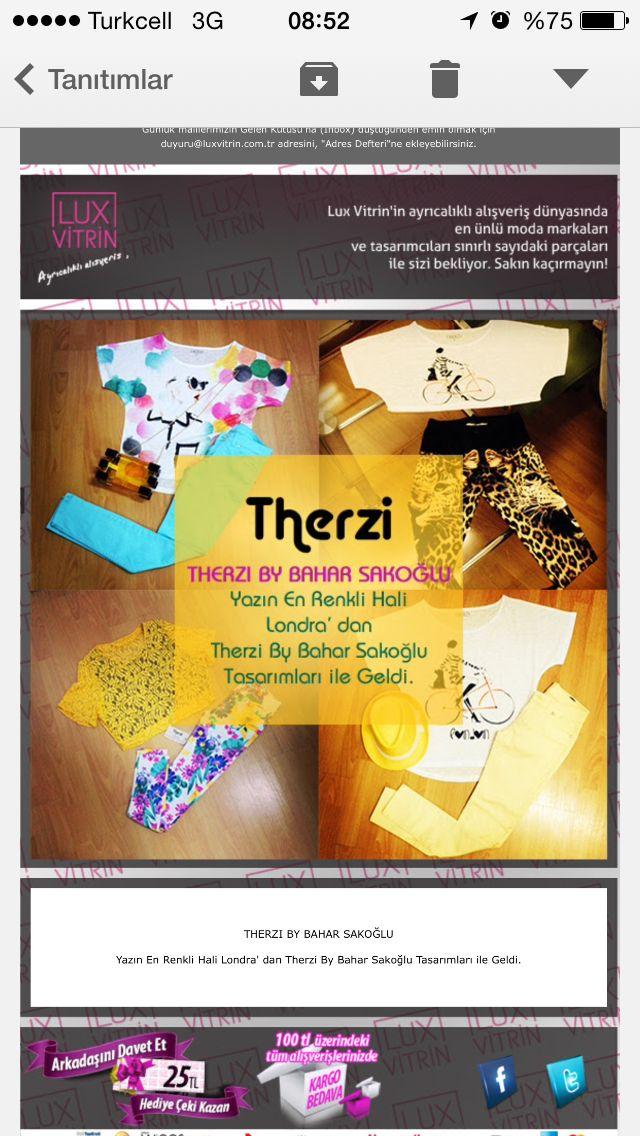 TGIF :) Haftasonunu yazın renklerinde karşıla  https://www.luxvitrin.com/marka/therzi-by-bahar-sakoglu-bayan-giyim-tasarim
