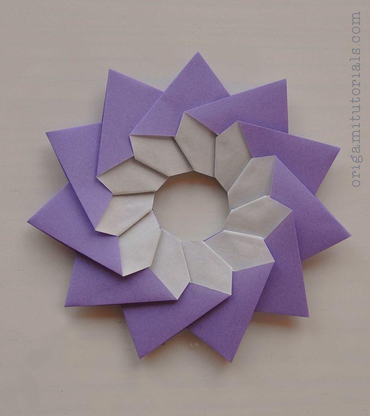 Origami Stella Della Mamma – Mother's Star Tutorial   Origami Tutorials