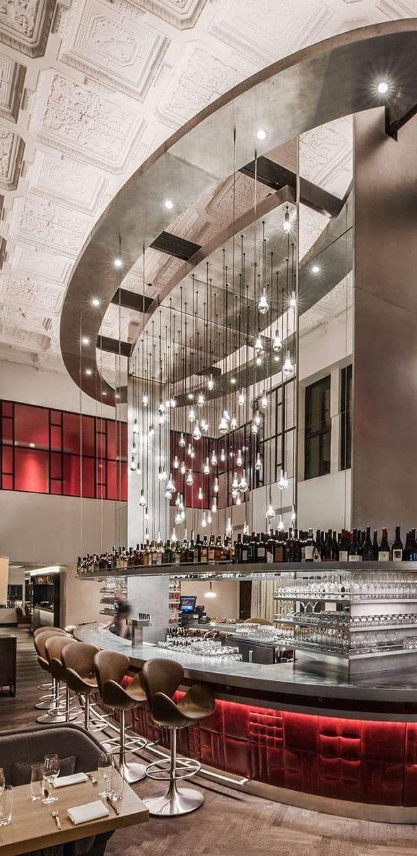 2917 best restaurant cafe bar design images on pinterest for Design hotels chicago