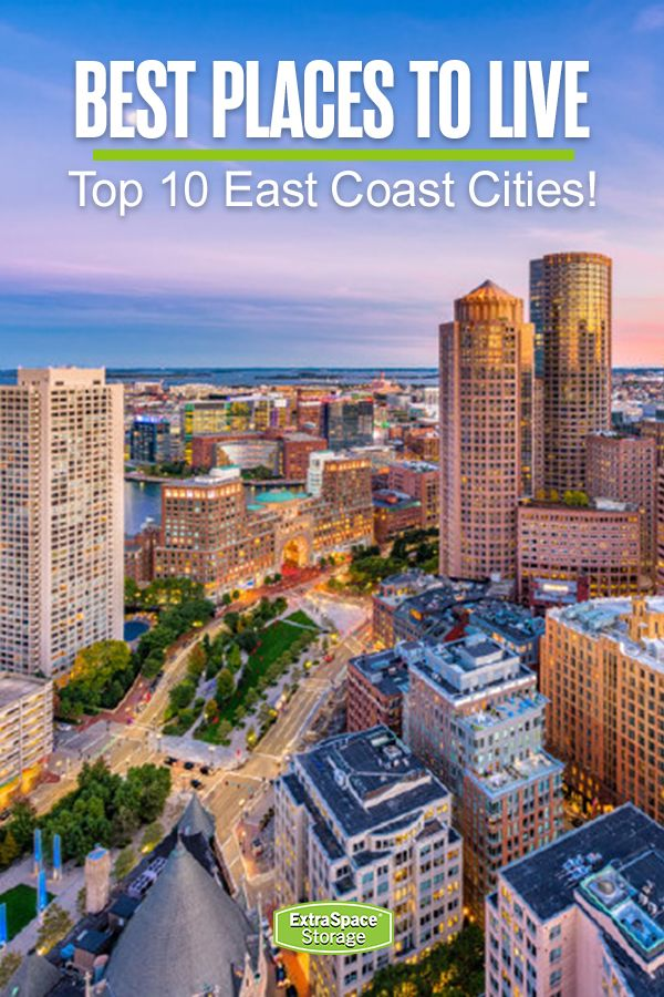 10 Best East Coast Cities To Live In With Images East Coast