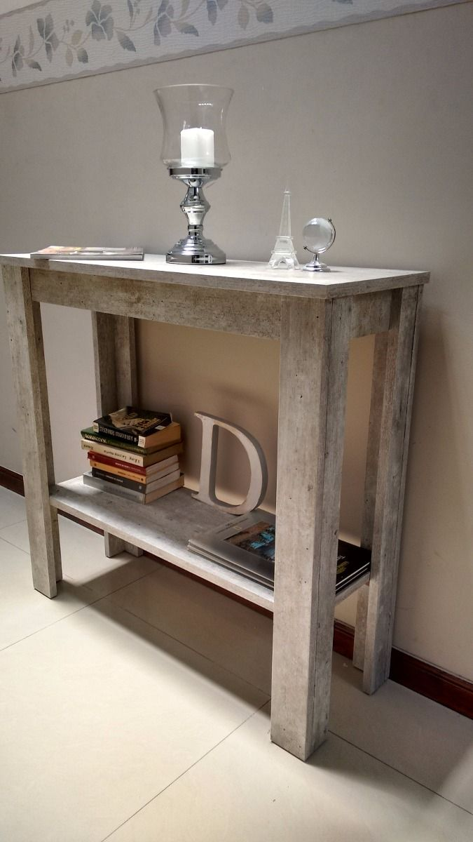 Mesa de arrime recibidor dressoire cemento f brica - Mesa de recibidor ...