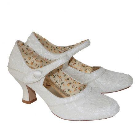 VT Perfect Esta Vintage Wedding Shoes | Free UK delivery to your door |