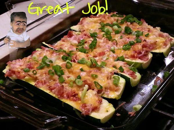 ... Pinterest | Stuffed Zucchini Boats, Zucchini Boats and Zucchini Bites