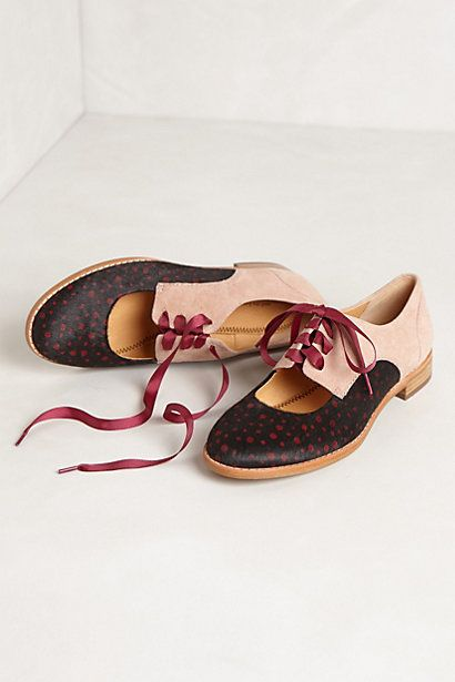 Olivia Cutout Oxfords: Fashion Shoes, Cutout Oxfords, Oxfords Shoes, Olivia Cutout, Blue Lace, Ballet Flats, Anthropologie Com, Girls Shoes, Anthro Shoes