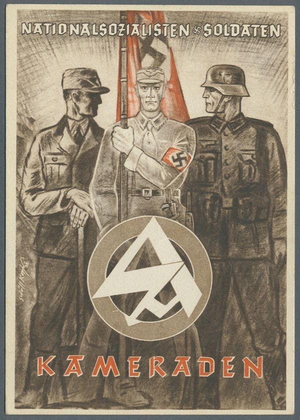 The living, the dead (Horst Wessel), Sturm Abteilung and regular army, all comrades