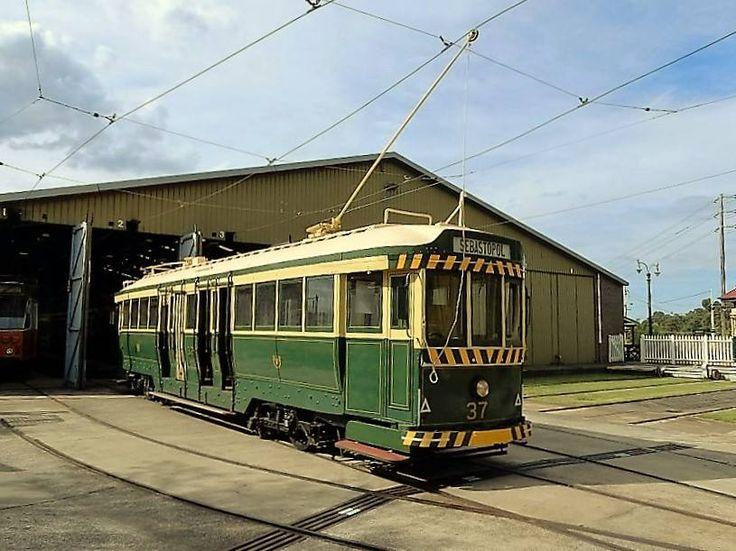 No 37, a long way from Sebastopol. Sydney Tram Museum, 2016