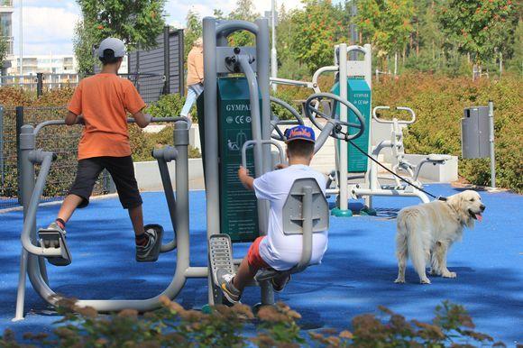 Outdoor gym Helsinki