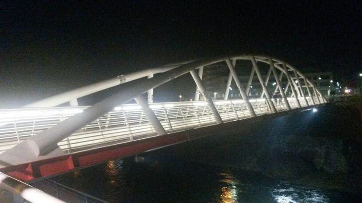 Nuovo ponte urbano sul fiume Nera - New bridge in Terni