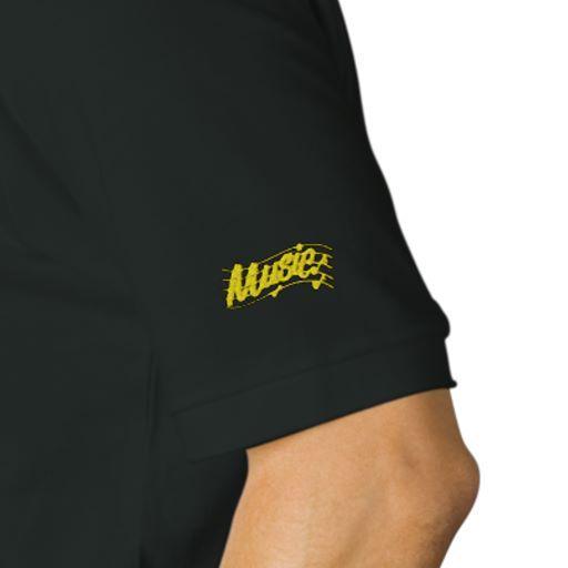 Music Notes Logo Polo Shirt