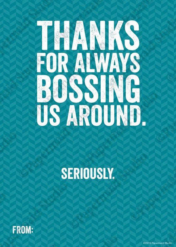 Printable Boss S Day Gift Card Holder National Boss Day Etsy National Bosses Day Bosses Day Cards Bosses Day