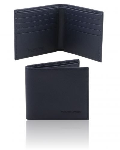 TL141437 Exclusive 2 fold Saffiano leather wallet for men