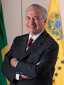 Vice President Michel Temer of Brazil