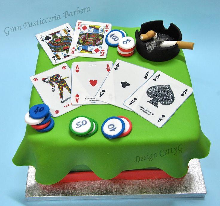 Die besten 25 poker kuchen ideen auf pinterest casino - Torte salate decorate ...