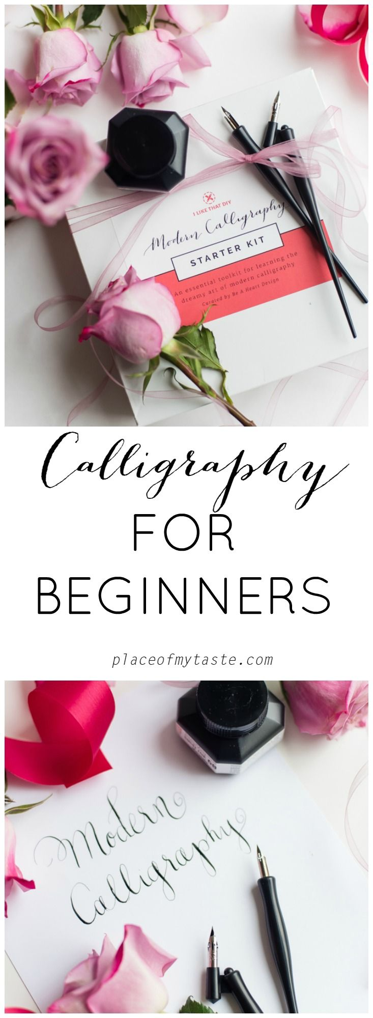 Have you ever wanted to start calligraphy? This amazing kit is perfect for beginners!