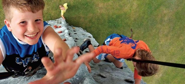 Climbing Wall at Woolacombe Bay Holiday Parks