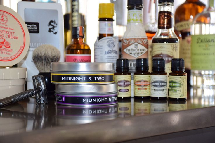 The perfect mix on a morning shave and a nightly cocktail. #malegrooming #allthingsmanly check out our shave soap at www.midnightandtwo.com #midnightandtwo
