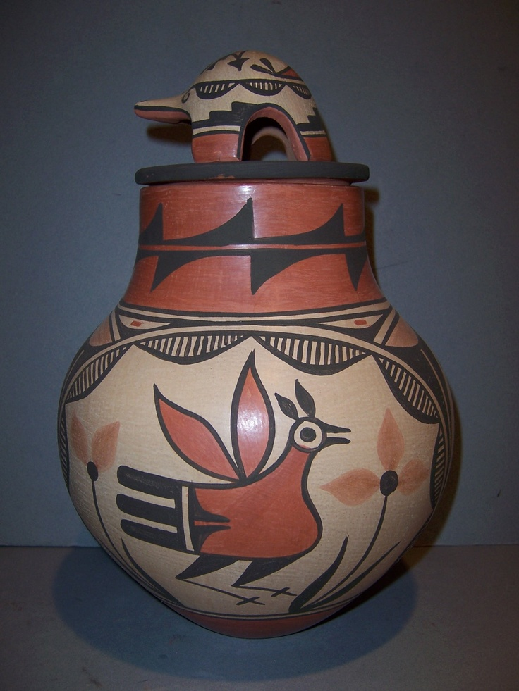 Zia Pueblo pottery - love this piece!