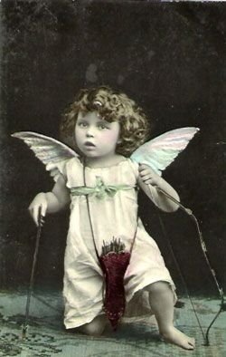 looks like cupid.