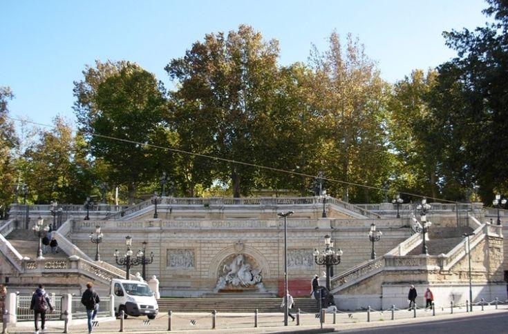 Scalinata del Pincio -Parco della Montagnola