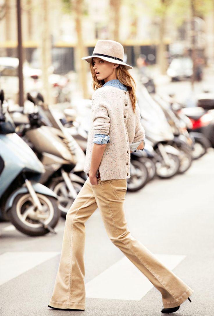 :: classic fall ::: Mango Fall, Legs Cords, Clothing Style, Fall 2012, Fall Styles, 2012 Catalogue, Whattoweardaily Fall Wint, Fashion Wearpi, Give Selezneva