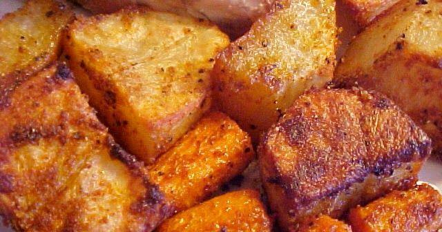 Une belle façon de préparer les pommes de terre, je les ai fait pour accompagner le poulet assaisonnérôti aufour que j'ai donné sur ce ...