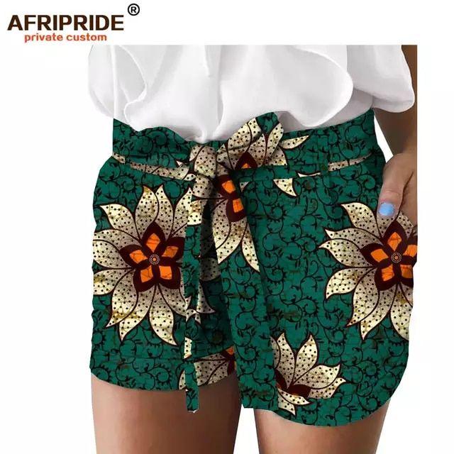 Tienda Online Los Ultimos Pantalones Cortos De Verano Con Estampado Africano De 2019 Para Mujer Hechos A Medida Ropa Africana Ropa Pantalones Cortos De Verano