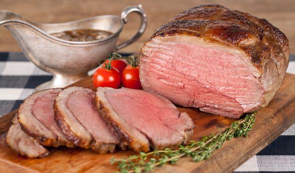 Roast Beef with Caramelized Onion Gravy