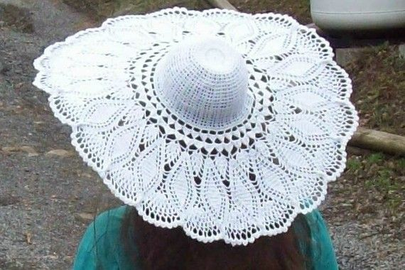 Free Crochet Patterns For Ladies Summer Hats : 17 Best images about accesorios on Pinterest Crochet sun ...